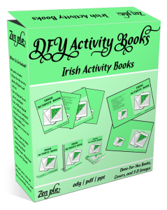 Zen PLR DFY Irish Activity Books Product Cover