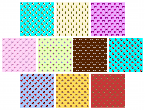 Zen PLR Digital Papers Pretty Bugs Volume 01 Large Designs