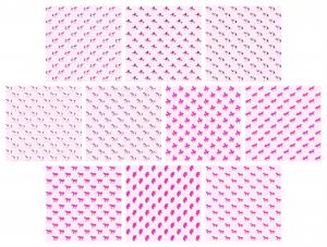 Zen PLR Digital Papers Unicorns Pink