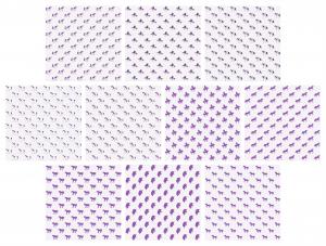 Zen PLR Digital Papers Unicorns Purple