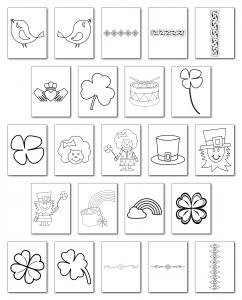 Zen PLR Irish Activity Pack Graphics All