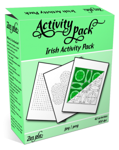 Zen PLR Irish Activity Pack Product Cover