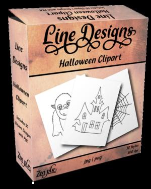 Zen PLR Line Designs Halloween Product Cover