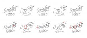 Zen PLR Magical Unicorns Journal Templates Upgrade Find the Differences Unicorn 05