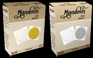 Zen PLR Mandalas Volume 01 Gold and Silver Product Bundle