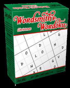 Zen PLR Wordsmith's Wordoku Christmas Product Cover
