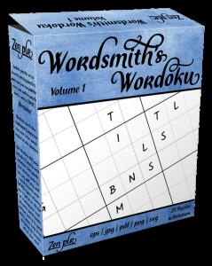 Zen PLR Wordsmith's Wordoku Volume 1 Product Cover