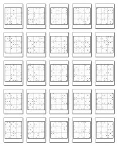Zen PLR Wordsmith's Wordoku Volume 4 All Puzzles Graphic