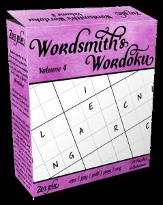 Zen PLR Wordsmith's Wordoku Volume 4 Product Cover