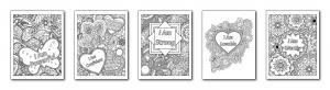 Zen PLR Workbook Kit Depression Coloring Pages All