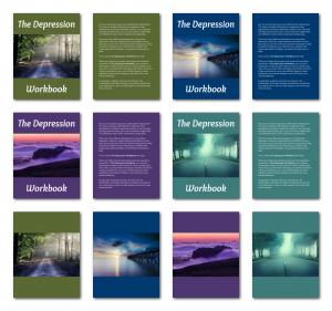Zen PLR Workbook Kit Depression Letter Covers All