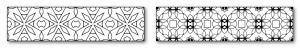 Zen PLR DFY Coloring Designs Volume 01 Horizontal Borders Sample