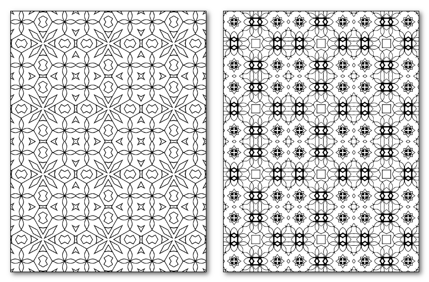 25 Rectangular Patterns Sample
