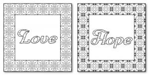 Zen PLR DFY Coloring Designs Volume 01 Sample Frames
