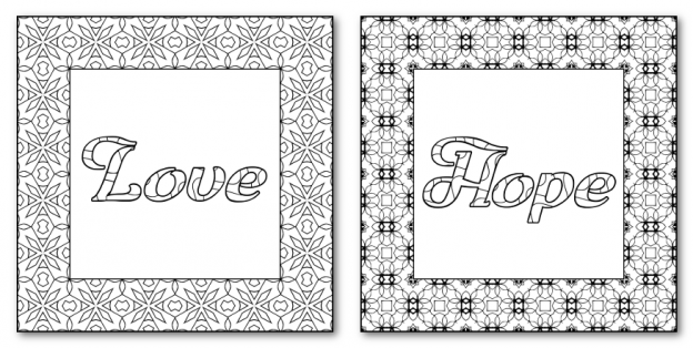 Zen PLR DFY Coloring Designs Volume 01 Sample Frames