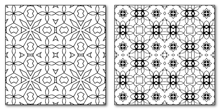 25 Square Patterns Sample